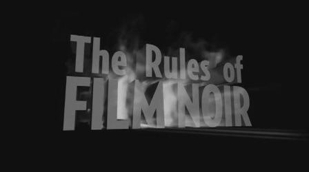 قوانین فیلم نوآر
